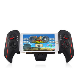 Universal Wireless Telescopic Controller Wireless Bluetooth Game Controller Gamepad for Android Phone iphone Tablet pc with Retail Box