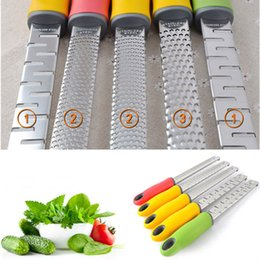 Wholesale 1pc Creative Vegetable Spiralizer Cheese Zester Microplane Grater Lemon Zester Fruit Vegetable Tools Kitchen Gadgets