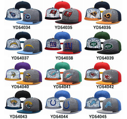 Wholesale New All Teams Snapbacks Football Hats Adjustable Hats Highly Reflective Surface Snapback Caps High Quality Snapback Sports Hats