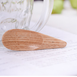Wholesale MUXING Chestnut Mini Spoon cm Burlywood Wooden Teaspoon Creative Tableware MOQ piece