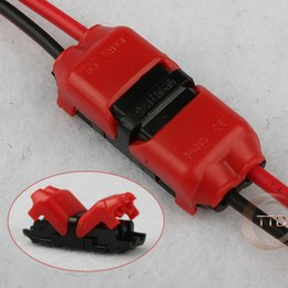 Wholesale 5pcs p Spring Connector wire with no welding no screws Quick Connector cable clamp Terminal Block Way Easy Fit for led strip