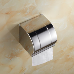 Stainless Steel Roll Paper Holder tissue holder tissue box toilet paper wall mounted stand holders PH009