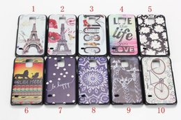 Wholesale Case for Samsung Galaxy S5 color painting phone case hard protective cover for Galaxy S5 i9600 Customized Design Available