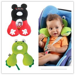 Wholesale 2015 The new U shaped neck pillow baby travel pillow baby car seat cushion