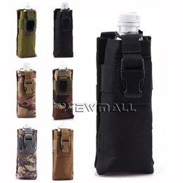 Wholesale Outdoor Tactical Army Molle Combined Open Top Water Bottle Pouch Bag For Hiking