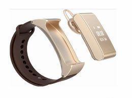 Moniteur de sommeil podomètre en Ligne-Nouvelle arrivée intelligente Montre-bracelet M8 bracelet intelligente blutooth casque moniteur podomètre veille pour Android Ios Smart Phone