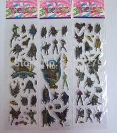 Wholesale Fashion cartoon bubble A warrior great batman stickers book wall stickers Mobile phone craft stickers