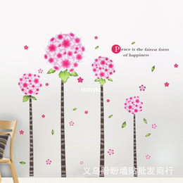 Wholesale wall stickers home decor Large removable wall stickers living room TV sofa backdrop wallpaper sticker XY1018 Happy Planet