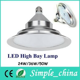 Wholesale 2015 Rushed Led High Bay Light E27 B22 Lighting w w w Smd Pendant Lamps School Shop Warehouse Outdoor indoor Lightings Decoration