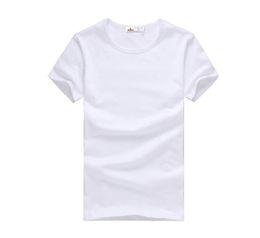 2019 brand clothing new Slim dark green red orange blue gray black white T shirts Slim Fit Short Sleeve T-shirt S-XXXL