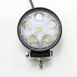 18W LED WORK LIGHT 12V 24V OFFROAD LAMP SPOT FLOOD CAR TRUCK OVAL AUTO LED WORKING LIGHT