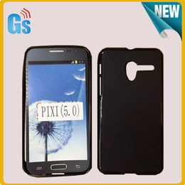 Pudding Matte Soft TPU Case Cover For Alcatel One Touch PIXI 3 (5) 5.0 OT5015 5 Inch