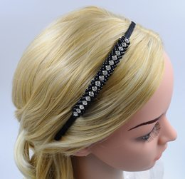 Women New Headband with Rhinestone Pearl Handmade Hair Accessories Fashion High Quality Hair Jewellery for Wholesale