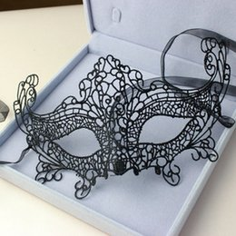 Beautiful lady Black Lace Floral Eye Mask Masquerade Fancy Party Dress Sex products WQ519