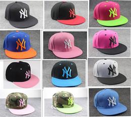 50pcs Hip-hop Hat Christmas Gifts Men and Women Ball Caps NY snapbacks Baseball Caps Snapbacks Hats Adjustable Cap D338 Store-wide Disc