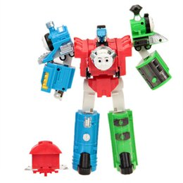 Wholesale 1pcs Super Thomas train truck Tomas Series Plastic Transformation Tomas Toy set for Kids educational toys