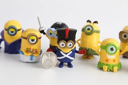 Wholesale Despicable Me Minion Character Display Figures Kid Toy Cake Toppers Decor Cartoon Movie PVC Action Figure