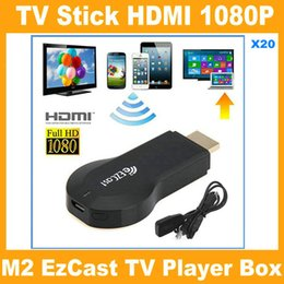 Wholesale iPush TV WiFi HDMI Dongle EzCast M2 W2 Miracast DLNA Airplay Receiver P Multi screen Sharing For Android IOS Windows Smart Devices V762