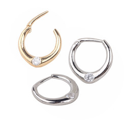 Gold Silver Nose Hoop Nose Rings clip on nose ring Body Fake Piercing Jewelry For Women Bijoux