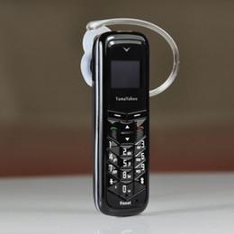 Wholesale DHL Yama Yahoo BM50 Unlocked Mini Phone Bluetooth Headset Least Mobile Phone Bluetooth Dialer Headphone Pocket Cellphone