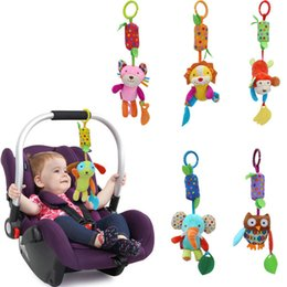 6 Styles SKK Baby Toy Forest Animals Campanula Crib toys with rattle teether Infant Early Development Toy stroller music Baby doll toy