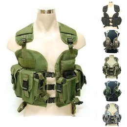 Wholesale Tactical vest Military jacket Woodland Camouflage Hunting safety vest Clothing tactical uniform armored Security Protection vest