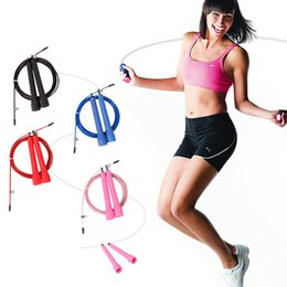 Wholesale fitness crossfit skipping ropes speed jump rope jump TPU skipping rope handle gym training sports exercise for