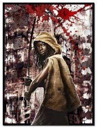 Wholesale The Walking Dead Season Art Silk Fabric Poster Print x32 quot