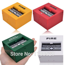Emergency Door Release Glass Break Alarm Button Fire alarm swtich