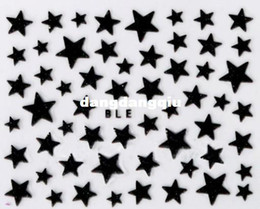 Wholesale-NEW 2014 30sheet  lot 3D Star DECAL NAIL ART STICKER NAIL DRESSING FOR NAIL ART ,10 design