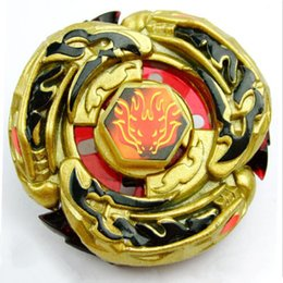 Wholesale 1pcs Beyblade Metal Fusion L Drago Destructor Destroy Gold Armored Metal Fury D Beyblade USA SELLER