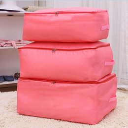 Quilt bag Foldable Storage Bag Clothes Blanket Closet Sweater Organizer Box ZH463