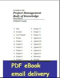 Wholesale A Guide to the Project Management Body of Knowledge rd edition