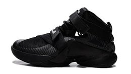 Wholesale Silk Black Cheap Lace Top - Free shipping hot sale cheap and top quality lebron Soldier 9 XI man basketball shoes lbj king mvp sneakers athletic james shoes 40-46