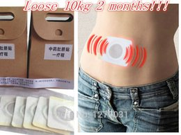 Wholesale 80pcs Authentic Chinese Medicine Magnet Navel stickers Magic Lose Weight Without Side Effects Burn Fat Slimming Body Sticker