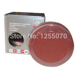 Wholesale Flocking sandpaper sheet disc sandpaper flannel grinding grinding sandpaper glued box of order lt no track
