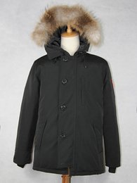 Wholesale 2015 Brand New Mens Goose Down Jacket Warm Winter CHATEAU PARKA Big Removable Raccoon fur