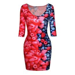 Dame ville à vendre-FG 1509 Personnalité Ville dame de la mode / Leopard / Swan / Camo 3D Print nouveau style d'été sexy O-cou demi robes femmes