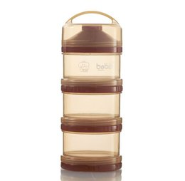 Wholesale Antibacterial Baby Powder Dispenser Three Portable Snack Storage Box g each layer Baby Food Container
