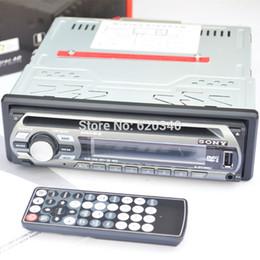 2017 el jugador del sd para la televisión Sony Car Factory Outlet reproductor de DVD de un solo disco, coche DVD reproductor de CD de coche / / MP4 pueden insertar MP3 orden del disco / tarjeta SD pista $ 18Nadie U económico el jugador del sd para la televisión