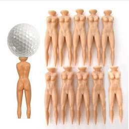Wholesale New Individual Beauty Golf Tee Multifunction Nude Lady Divot Tools Tees Golf stand