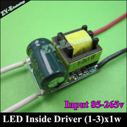 Wholesale-10pc Quality inside driver 300mA 3W LED Driver1W 3W*1W Lighting Transformers Power Supply for bulb Lihgt Lamp Durable freeship