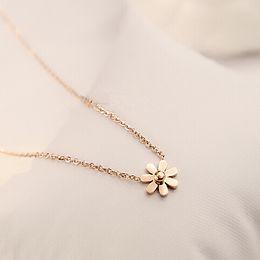 Hot Sale Sparkling Good Luck gold Pendant flower necklace Elephant golden 14k Statement Pendant Necklace for Women chain necklace