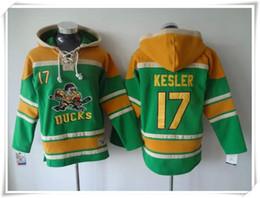 Hoodies Jerseys Men ICE Hockey Ducks #17 KESLER 15 getzlaf 10 Perry 9 KARIYA Green stitching Jerseys Sports jersey Best quality Mix Order