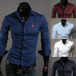 Free Shipping 2015 HOT Fashion korean men shirts Casual slim fit men's dress shirts mens casual shirts