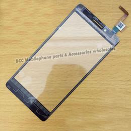Notas t móviles en Línea-Al por mayor-Probado el teléfono móvil original panel táctil Para el vidrio de Lenovo ROM K3 NOTA K30-W-T K30 pantalla del panel de la pantalla táctil del digitizador delantero + Track