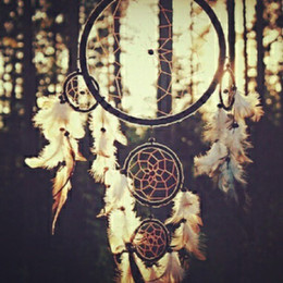 Wholesale Dream Catcher Hangings Decor Dreamcatcher accessories birthday gift ring large paragraph