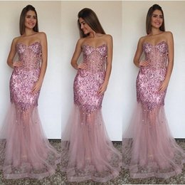 Sheath Sweetheart Evening Dress 2016 Sweetheart Beaded Sequins Formal Evening Gowns Prom Evening Dress Custom Made