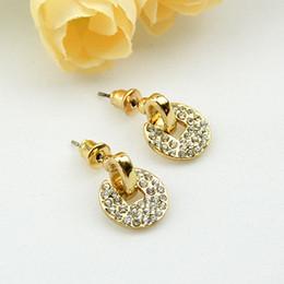 Romantic Vivid Bijoux Created Gemstone Stud Earrings For Women Wholesale Summer Fashion