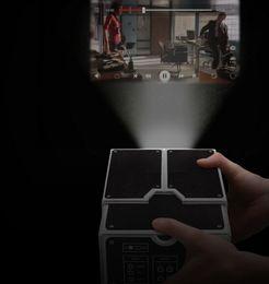 Wholesale Piece In Stock Cardboard Smartphone Projector DIY Mobile Phone Projector